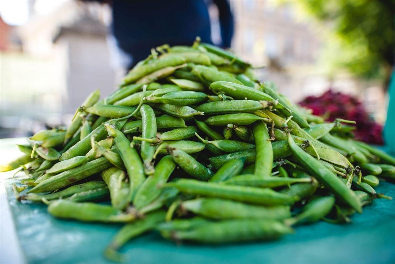 Green Friday, Organic products fair in Piaţa Huet